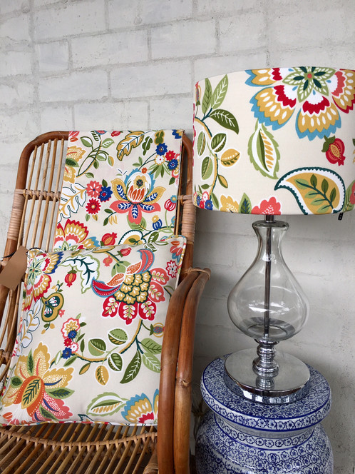 Lampshade telfair floral lampshades cushions clutches lampshade telfair floral lampshades cushions clutches brisbane thisthat styling aloadofball Image collections