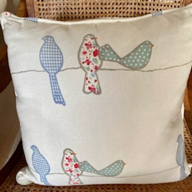 Birds on a Wire - Cushion Cover