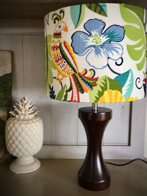 Tropical Flowers - Lampshade