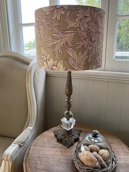 Chrysanthemum Olive - Lampshade
