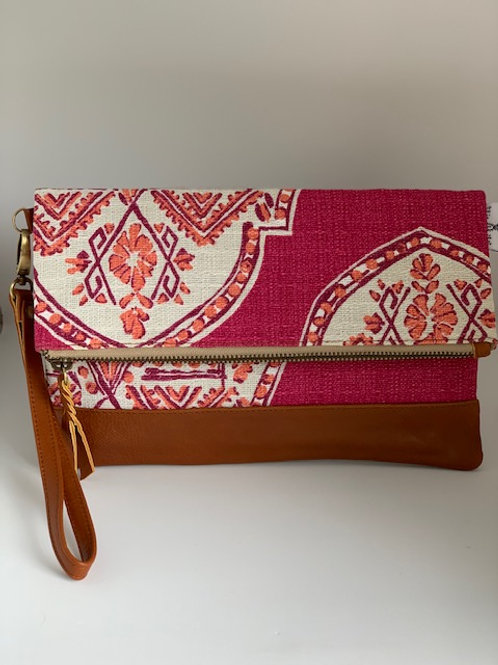 Imperial Pink - Breezes Clutch