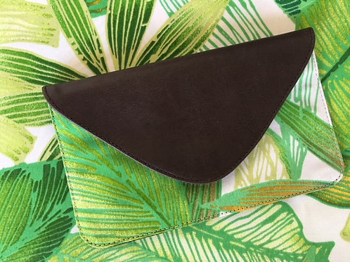 Cantrell Palms Lime - Coco Clutch