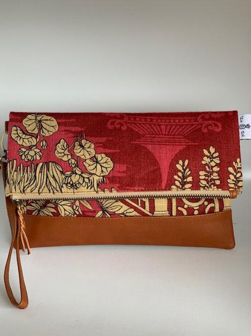 Oriental Red - Breezes Clutch