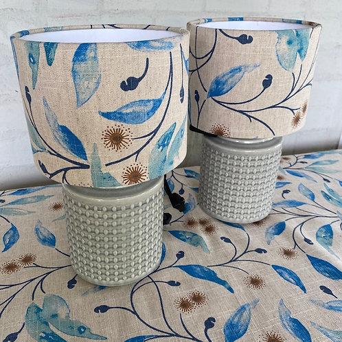 Hepburn Blue - Lampshade Packages