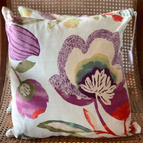 Lily Floral - Cushion Cover