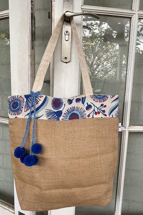 Blue Gum Blossoms - Market Bag