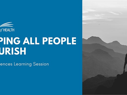 Helping All People Flourish: NEAR Sciences Training Sessions