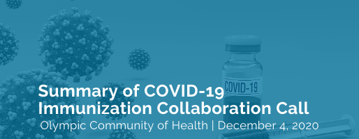 Summary of COVID-19 Immunization Collaboration Call