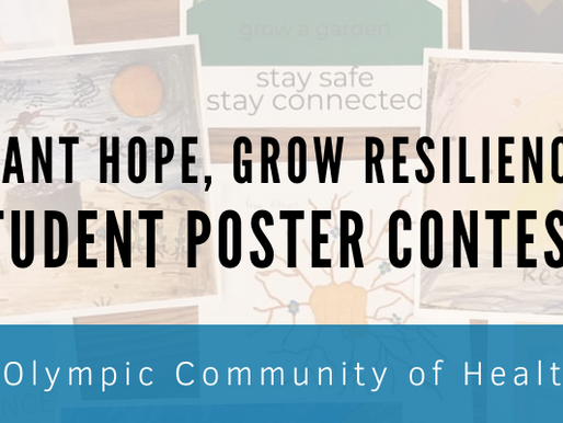 2020 Student Poster Contest: Plant Hope, Grow Resilience
