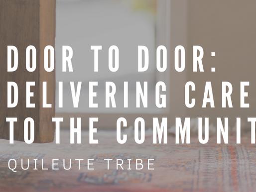 Door to Door: Delivering Care to the Community