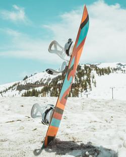 Snowboard à Val Cenis