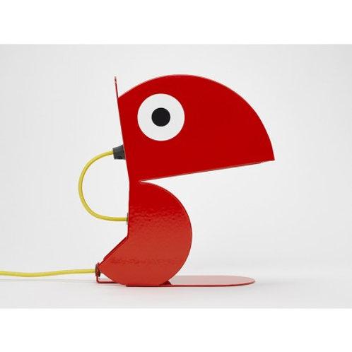 Lampe Perroquet Rouge