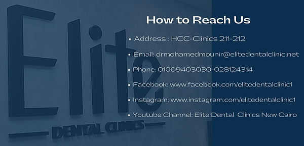 Elite Dental Clinic Contact