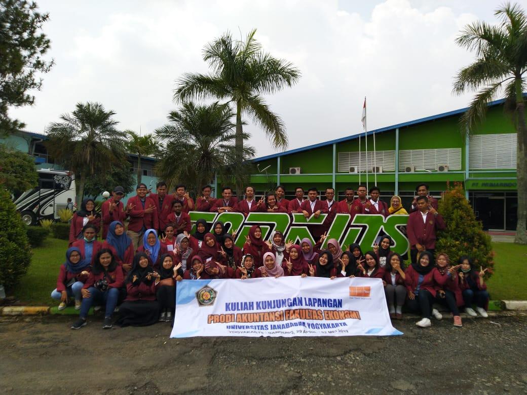 Kuliah Lapangan di PT Tomkins Bandung 2019