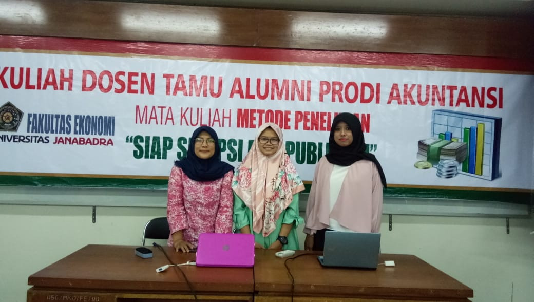 Kuliah Dosen Tamu Alumni Prodi Akuntansi