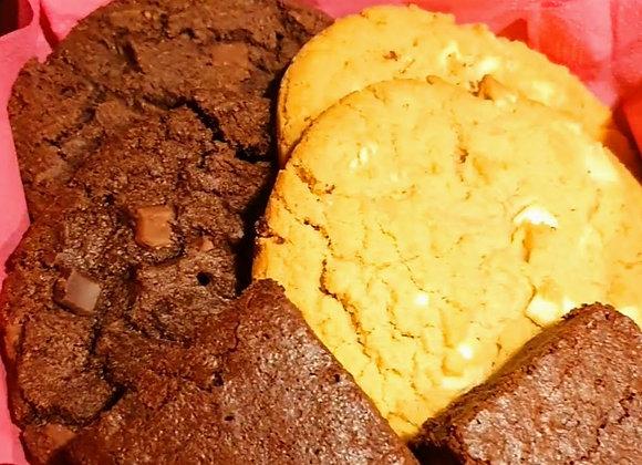 Sweet Box Cookie & Brownie 6 stuks