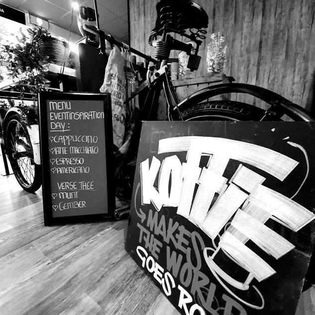 De Koffiefiets - authentieke bakfiets