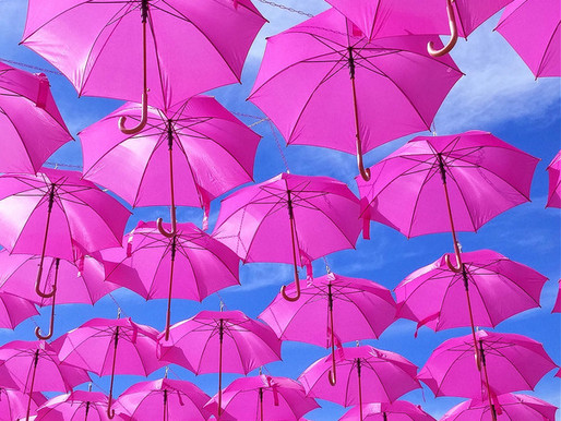les Parapluies Rose de Montpellier