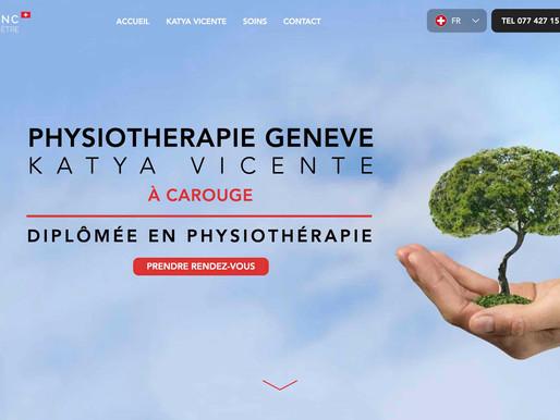 Prenez soin de Vous ! Création du Site Internet du l'Arbre Blanc à Genève