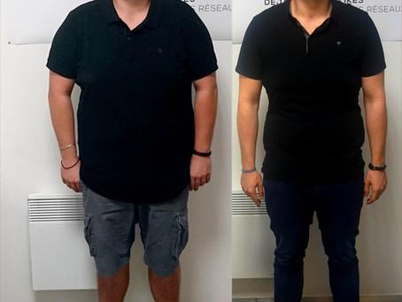 Témoignage de Mathieu - 30kg
