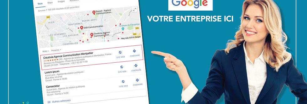 Google Businness Optimisé SEO