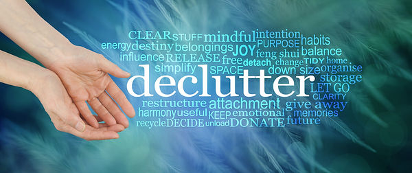 Angelic feather Declutter Word Cloud - f