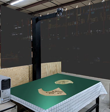 NShot Digitizing Station at Carson Furniture