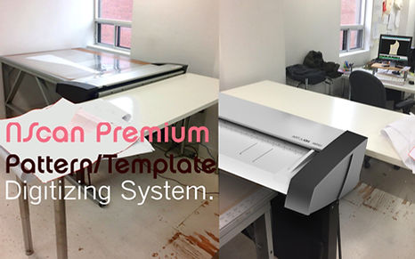 NScan Pttern Template Digitizing System for CAD PAD software.