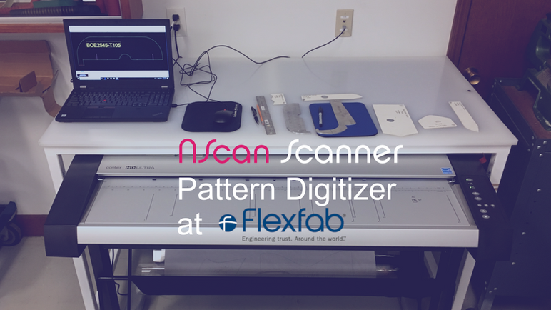 Flexfab LLC (aerospace/automotive) is using the NScan Scanner Digitizer with Solidworks and Gerber C