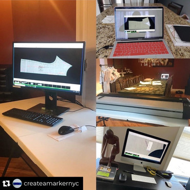 Create-a-Marker service company working remotely with the NScan Digitizer <3 When the world stops