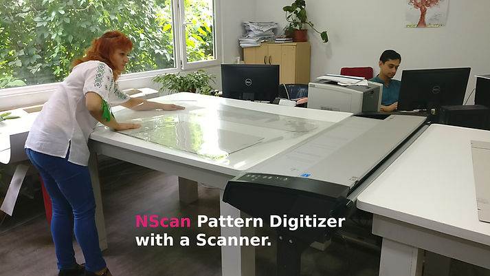 Pattern Digizing Scanner for Patterns