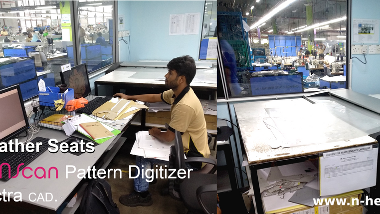 DK Leather Corporation (OEM automotive upholstery leather manufacturer) acquired an extra NScan Patt