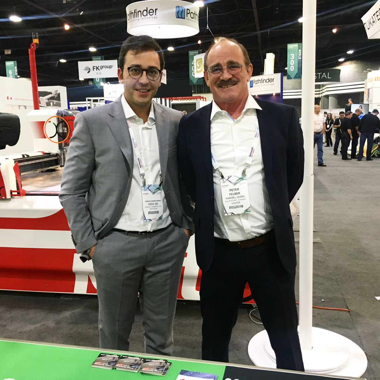 Sergio G. and Parma Texprocess 2018