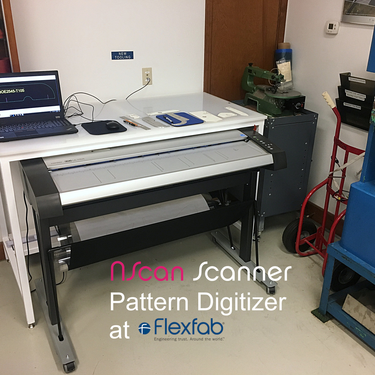 Flexfab NScan digitizing system