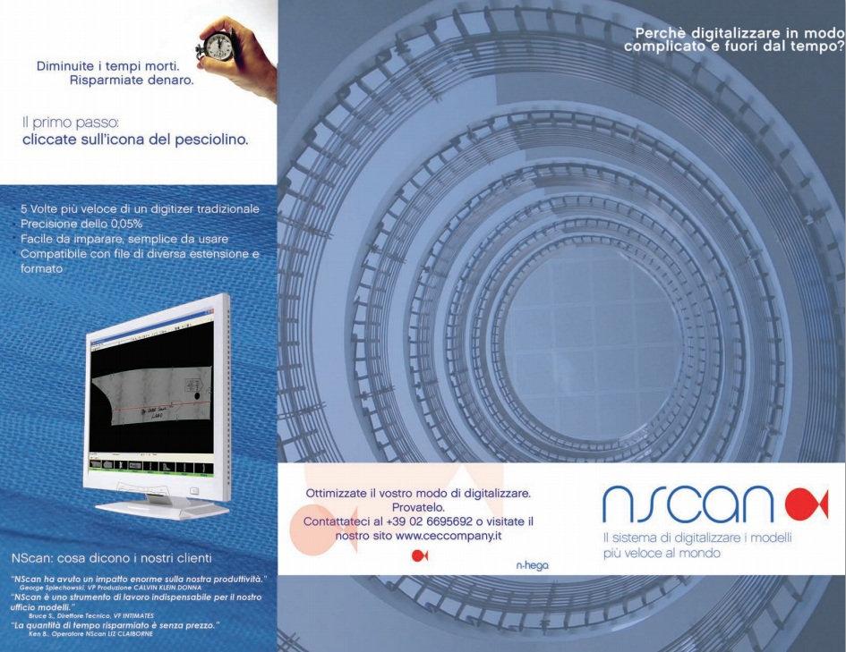 nscan italian brochure