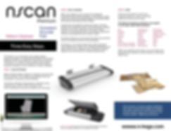 NScan Brochure Scanner digitizer