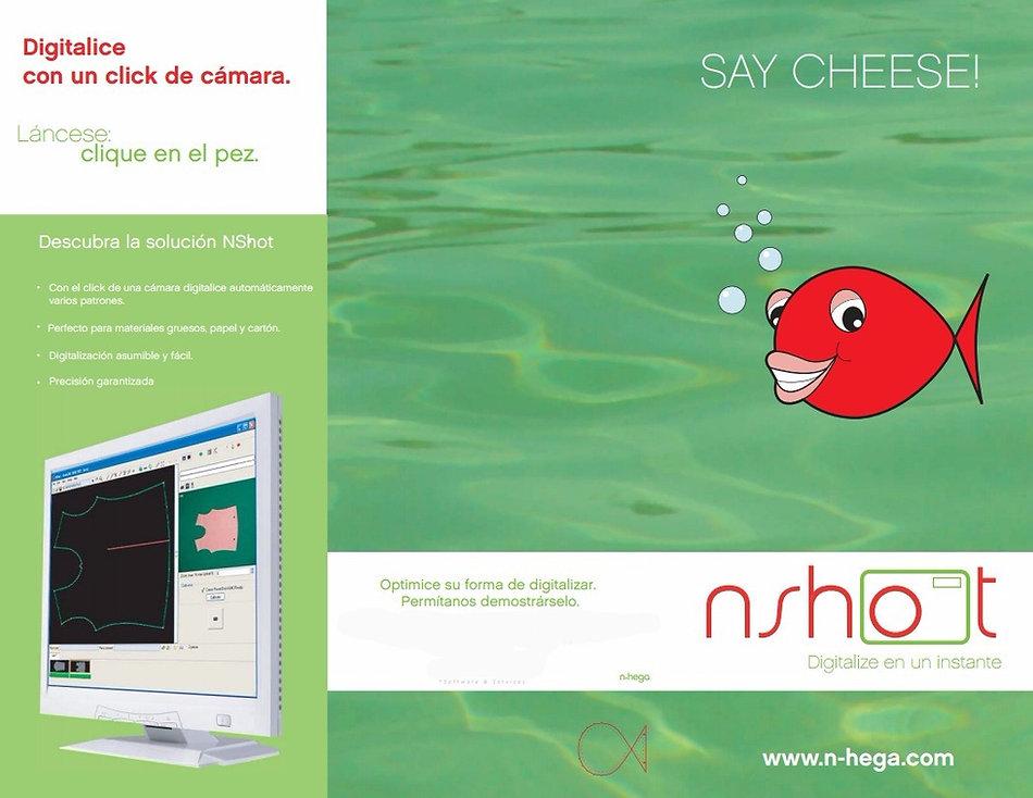 nshot Spanish brochure