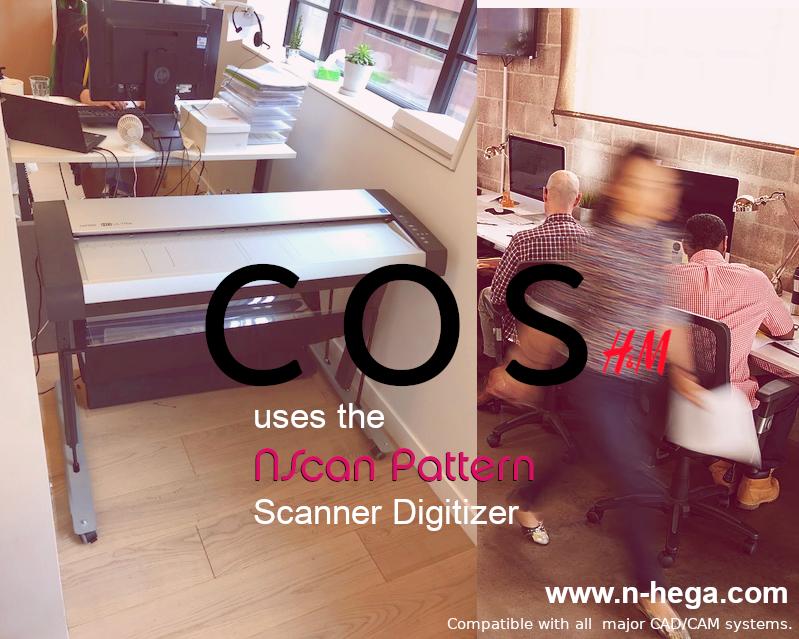 Scanner Digitizer for Patterns