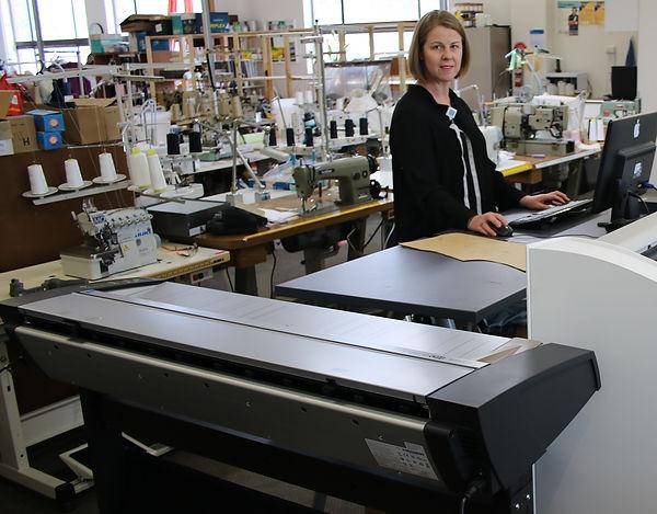 NScan CAD digitizer at Sample Room