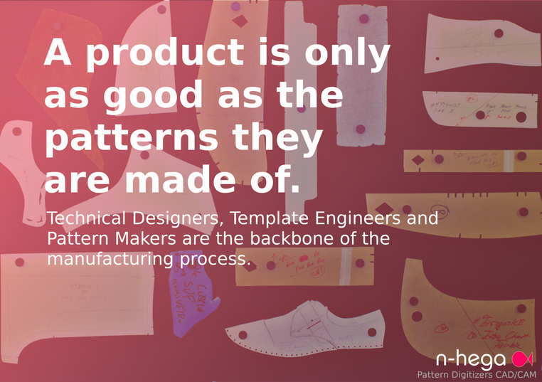 A Product is only as good as the patterns they are made of. Technical Designers, Pattern makers and