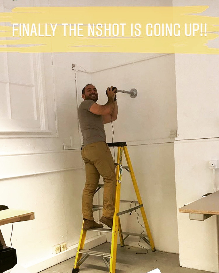 NShot-Pro going up at LondonCollege of Fashion UK