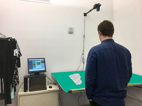 NShot Pro Camera Pattern Digitizer CAD.