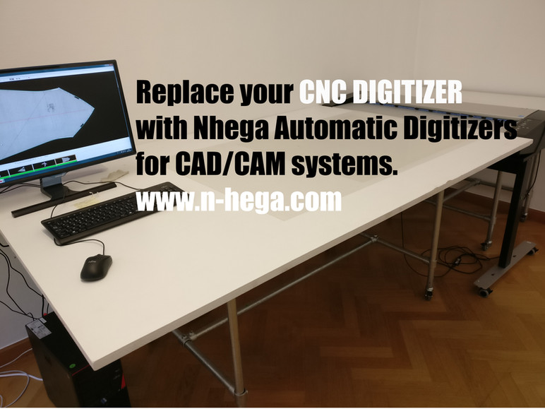 Replace your CNC Digitizer with an Automatic Pattern Digitizer.