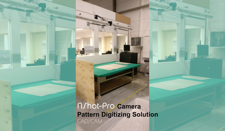 NShot-Pro Camera Digitizing Solution. Perfect for small/large patterns of all colors and shapes. The