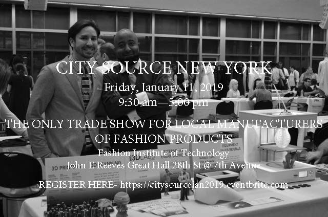 See you @ City Source Trade Show