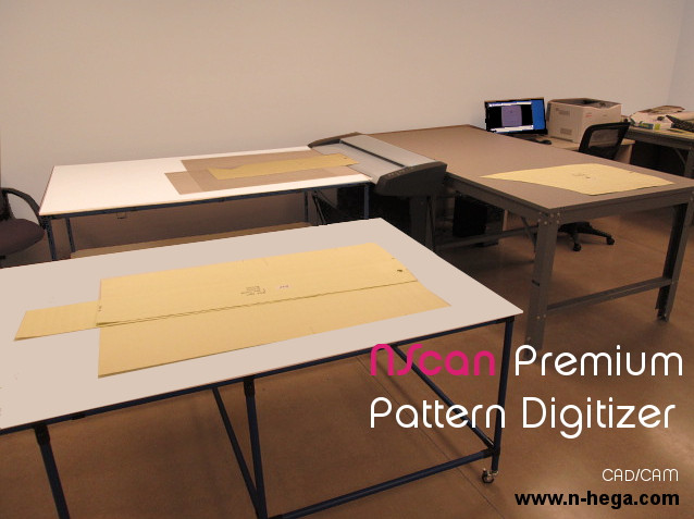 Smith Brothers of Berne NScan Pattern Digitizer Room