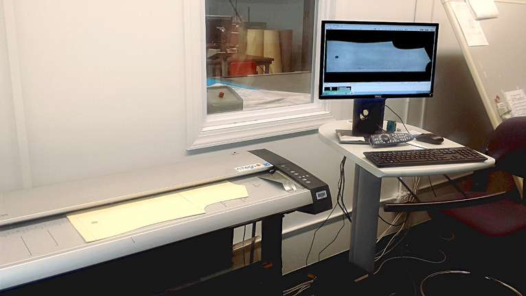 The NScan Pattern Digitizer at FITNYC (Fashion Institute of Technology New York) Production Manageme