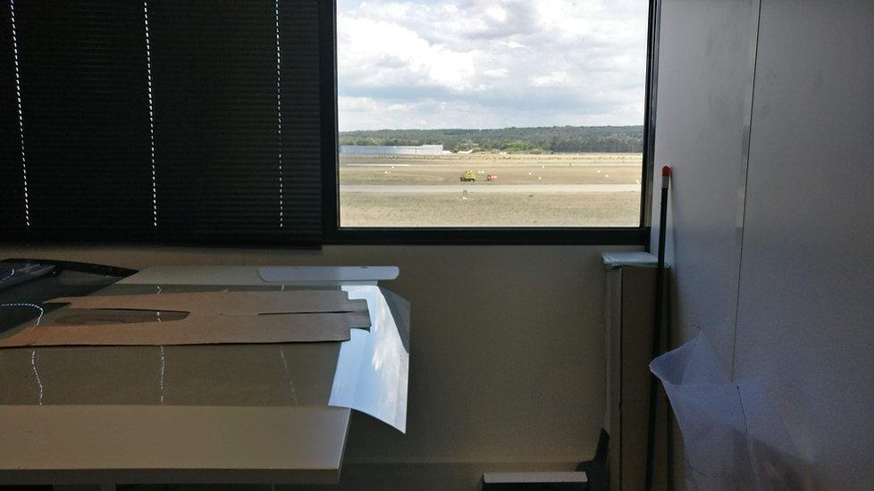 Aircraft upholstery digitiser