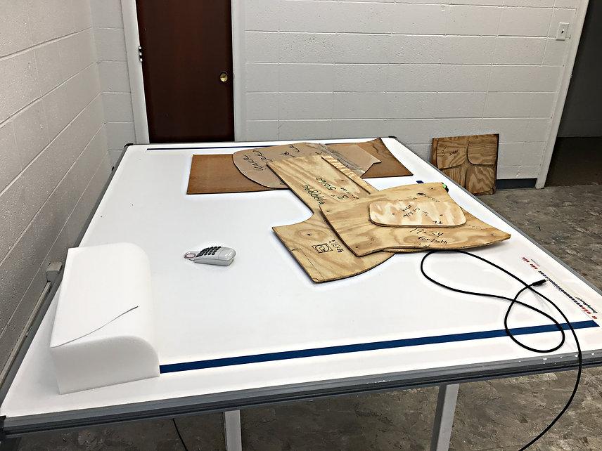 Pattern Digitizing Table