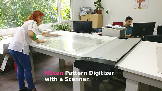NScan Pattern Digitiser